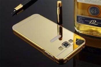 Capa Capinha Bumper Espelhada Celular Samsung Galaxy J3 2016