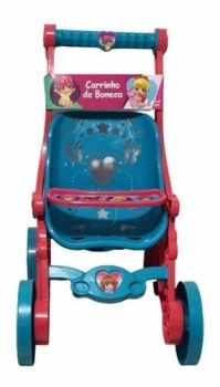 Carrinho De Boneca Baby Alive Bebê Reborn Princesas Líder