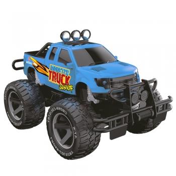 Carro De Controle Remoto Recarregável Pick-up Monster Truck Junior
