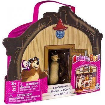 Casa Do Urso Com Personagem Masha e o Urso Maleta Sunny Brinquedos