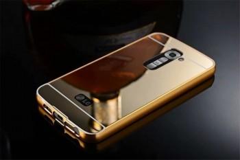 Case Capinha Bumper Alumínio Espelhada Luxo Lg G2 D802 D805