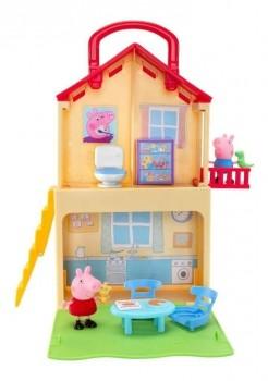 Casinha Casa Maletinha Playground Com Acessórios Peppa Pig Sunny