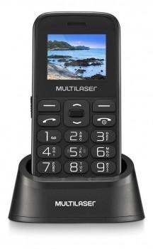 Celular Do Idoso Vita Dual Chip Com Base, Botão Sos P9121