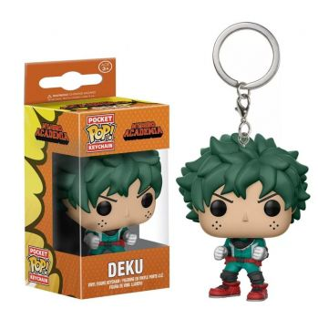 Chaveiro Deku - My Hero Academia - Pocket Pop! Funko