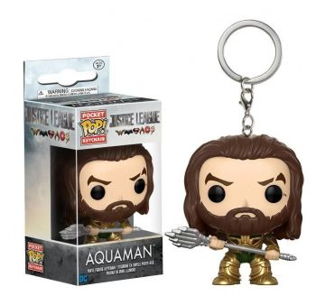 Chaveiro Funko Pop Keychain Justice League - Aquaman