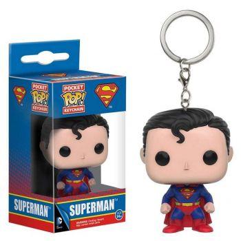 Chaveiro Funko Pop! Super Homem Superman Clássico