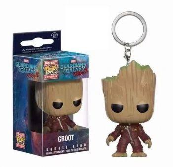 Chaveiro Groot - Pocket Pop Funko - Guardiões Galáxia 2