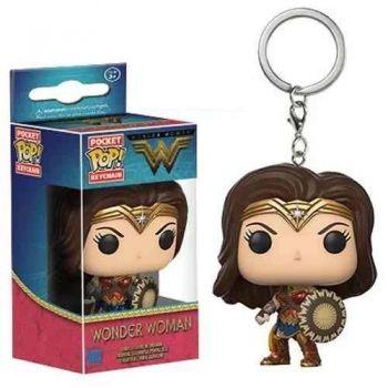 Chaveiro Mulher Maravilha Funko Keychain Wonder Woman