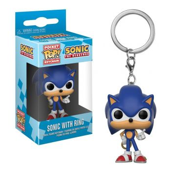 Chaveiro Sonic - Sonic The Hedgehog - Pocket Pop! Funko