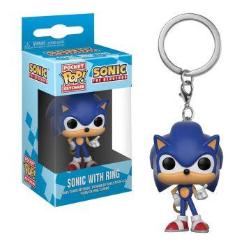 Chaveiro Sonic - Sonic The Hedgehog - Pocket Pop! Funko