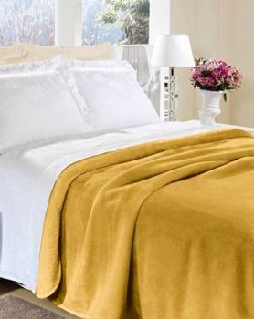 Cobertor Manta Flannel King Size Jolitex Várias Cores 2,20x2,40m