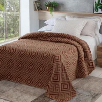 Cobertor Manta King Microfibra Jolitex Anti Alérgico Estampada