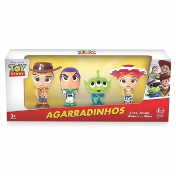 Coleção Toy Story Agarradinhos - 4 Bonecos-líder Brinquedos