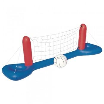 Conjunto Boia Voleibol Inflável Piscina Bola Rede Vôlei Play