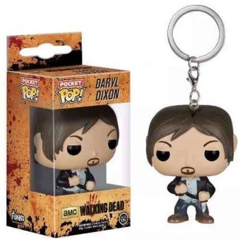 Daryl Dixon Chaveiro The Walking Dead - Funko Pop Pocket