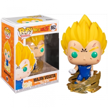 Dragon Ball Z - Boneco Pop Funko Majin Vegeta #862