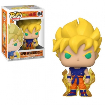 Dragon Ball Z - Boneco Pop Funko Super Saiyan Goku #860