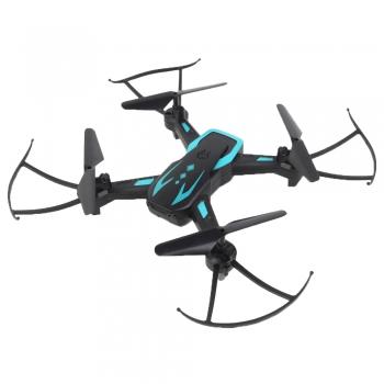 Drone Quadricóptero Techspy C/ Câmera Preto E Azul Polibrinq