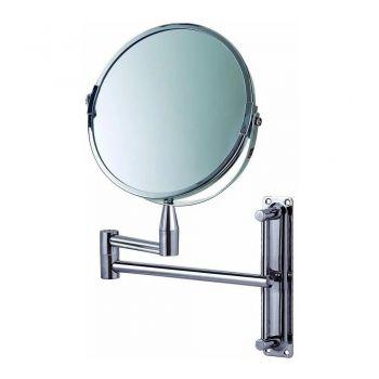 Espelho De Aumento Articulado Giratório 360º Dupla Face Mor