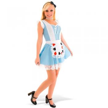 Fantasia Alice No Pais Das Maravilhas Adulto Heat Girls