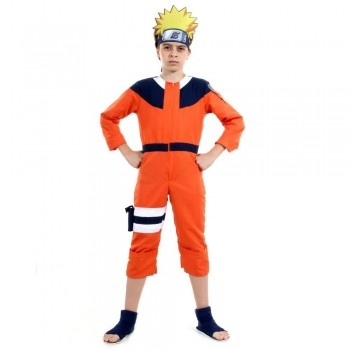 Fantasia Cosplay Do Naruto Infantil Sulamericana 3 A 12 Anos