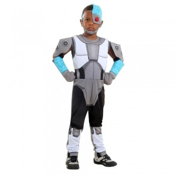 Fantasia Cyborg Jovens Titans Premmium - Sulamericana
