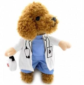 Fantasia De Médico Para Animal De Estimação