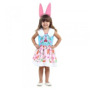 Fantasia Enchantimals Infantil Coelha Bree Bunny Com Orelhas