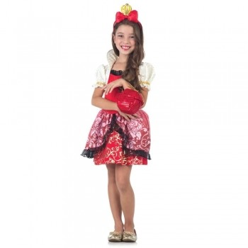 Fantasia Ever After High Apple White Luxo - Sulamericana