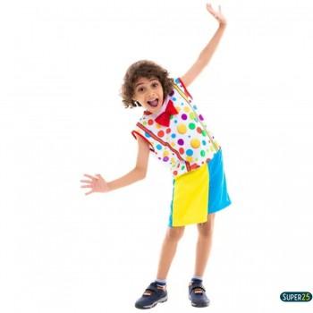 Fantasia Infantil De Palhacinho Festa Carnaval Circo