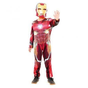 Fantasia Infantil Homem De Ferro Luxo Guerra Infinita
