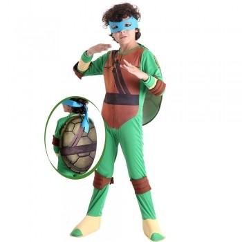 Fantasia Infantil Tartarugas Ninjas Leonardo - Sulamericana