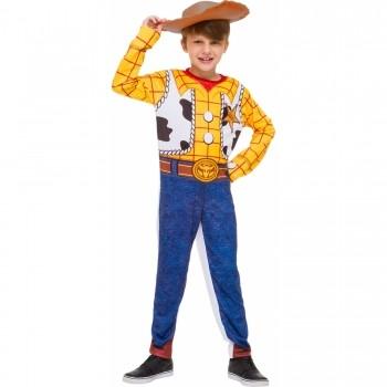 Fantasia Infantil Woody Longa Original Disney Com Chapéu