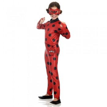 Fantasia Ladybug Infantil Completa Miraculous Original