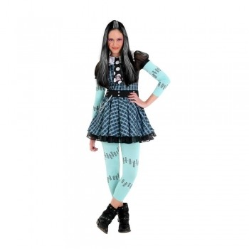 Fantasia Monster High Frankie Xadrez Luxo - Sulamericana