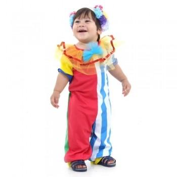 Fantasia Palhaço Bebê Sulamericana