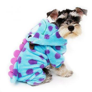 Fantasia Pet Sulley Monstros Sa Cachorro Cão Gato Roupa Casaco