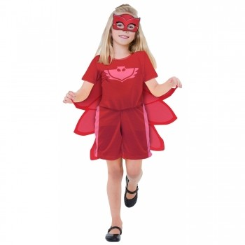 Fantasia Pj Masks Corujita Amaya Infantil Curta Com Máscara