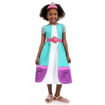 Fantasia Princesa Nella Infantil Luxo Original Sulamericana