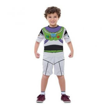 Fantasia Toy Story Buzz Lightyear Infantil S/ Mascara Curto