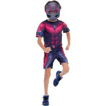 Fantasia Vingadores Ultimato Homem Formiga Curta 3 A 12 Anos