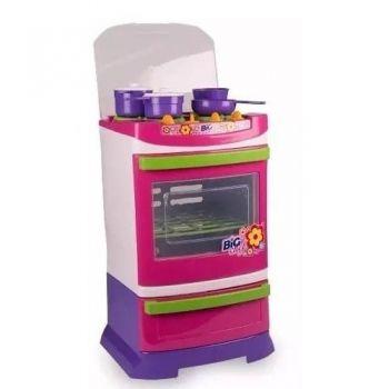 Fogão Infantil Poliplac Para Cozinha Completa Linda
