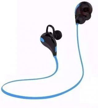 Fone Ouvido Headset Bluetooth Universal Celular Lc-777 Sem Fio Esporte Corrida BOAS Azul