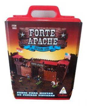 Forte Apache Gulliver Batalha Luxo Figuras Pintadas