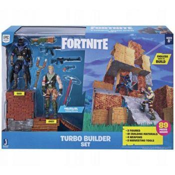 Fortnite Playset Turbo Builder Com 2 Bonecos Sunny 2060