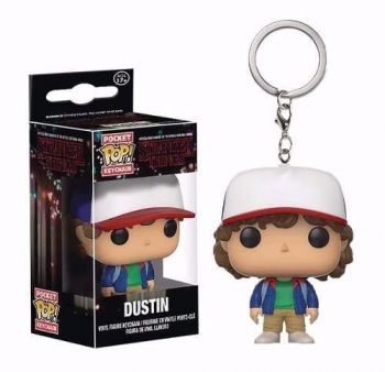 Funko Pocket Pop! Chaveiro Dustin Stranger Things