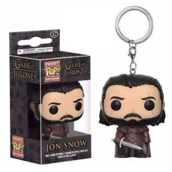Funko Pocket Pop! Chaveiro Jon Snow Game Of Thrones