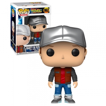 Funko Pop! Back To The Future Marty In Future Outfit 962