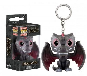 Funko Pop Chaveiro Drogon - Game Of Thrones