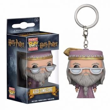 Harry Potter Albus Dumbledore Chaveiro Mini Boneco Pop Funko